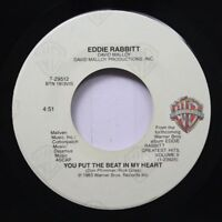 Country 45 Eddie Rabbitt - You Put The Beat In My Heart / Our Love Will Survive