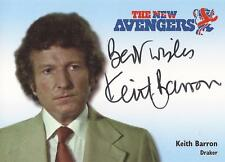 "The New Avengers - N-A6 Keith Barron ""Draker"" Autograph Card"