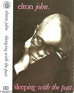 Elton John Sleeping With The Past CASSETTE ALBUM Australasia Pop Rock Classic