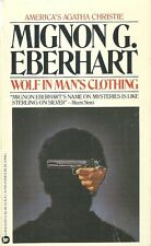 Wolf in Man's Clothing Mignon G. Eberhart  1983 Mystery Vintage Very Good Plus