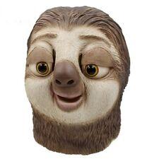 Halloween Mask  Full Head Animal Cosplay Costume Zootopia Sloth Props Party