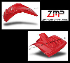 NEW HONDA 81 - 82 ATC250R RED PLASTIC FRONT AND REAR FENDER SET ATC 250R