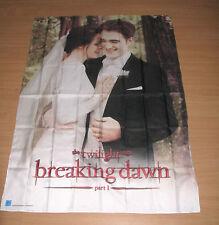 Twilight Saga Breaking Dawn Part I Banner Wall Hanging Scarf Edward Bella Wed