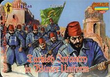 Strelets 1/72 Turkish Infantry in Winter Uniform 1877 Russo-Turkish War  # M066