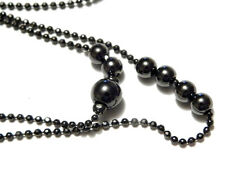 Pilgrim Damen-Halskette Schwarzmetall 100 cm Wickelkette