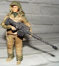 1:18 BBI Elite Force US Army Sniper Sharpshooter Desert  Suit Camouflage Figure