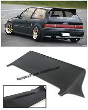 J Style Rear Roof Spoiler Wing Lip Kit JDM For 88-91 Honda Civic EF9 Hatch 3Dr
