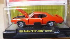 1969  Pontiac GTO Judge Prototype  1:64 Scale M2 Diecast