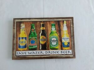 Wall plaque and sign, inspirational, humourous, handmade and painted on wood