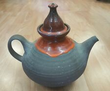 Danish mid century Ditlev Studio pottery teapot.
