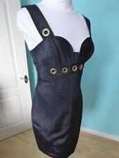 Yoana Baraschi Anthropologie designer black pencil dress size 10 new RRP £230