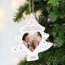 Personalised Christmas Tree Photo Frame