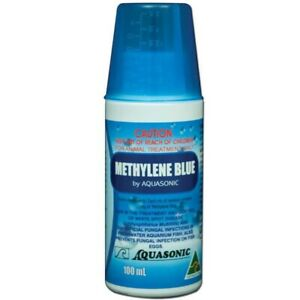 Aquasonic Methylene Blue 100ml - Whitespot & Fungal Treatment Freshwater/Marine