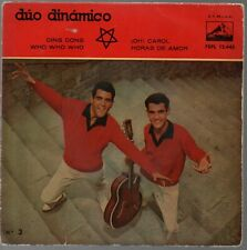 "Duo Dinamico Ding Dong / Oh Carol EP 7"" Single 1960"