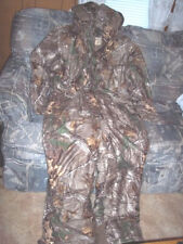 Mens Insulated Coveralls XL Realtree Camo Coveralls Water Proof Hunting Camo