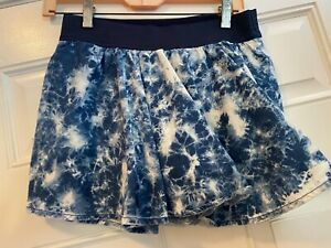 Justice for Girls Blue and White Skort Size 16R girls