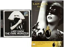 LADY GAGA The Fame Monster MALAYSIA FLAG Deluxe 2 CD + PERFUME LEAFLET FREE SHIP