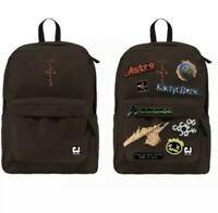 Travis Scott Cactus Jack Backpack with Patch Set. In Hand & Ready Ship Brand New