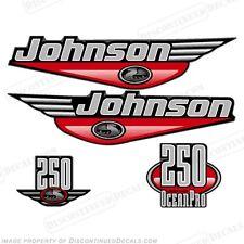 Johnson 1999-2000 oceanpro 250hp Fuera De Borda calcomanía Kit-Usted Elige Color! calcomanías