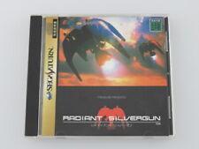 Sega Saturn Radiant Silvergun 1998 japan SS Game Soft Disc Manual F/S