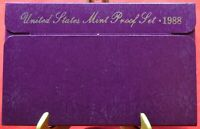 1988-S Proof Set United States US Mint - Free Shipping