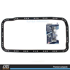 ⭐⭐ENGINE OIL PAN GASKET W/ SILICONE for 90-01 ACURA INTEGRA CR-V CIVIC DEL SOL⭐⭐