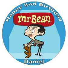 """Mr Bean Personalised Wafer Paper Topper For Large Cake Various Sizes 7.5"""""""