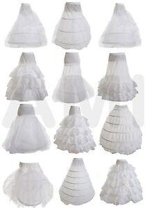 Clearance Sale Wedding Bridal Prom Dress Petticoat Underskirt Hoop Hoopless