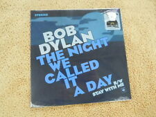 """Bob Dylan  - The Night... -  BLUE VINYL SEALED RSD Picture Sleeve PS 7"""""""