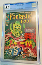 FANTASTIC FOUR #49 1ST APP GALACTUS & 2ND APP SILVER SURFER *CGC 5.0 CR TO OW*