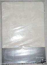 John Lewis Farmyard White Slot head with tape Single Sheer Panel 140x230 RRP £40