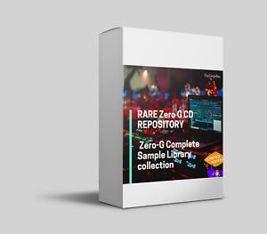 RARE Zero G CD REPOSITORY  🎼 Zero-G Complete Sample Library collection 🎼