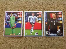 PANINI Football Superstar KELLOGGS 3 x Stickers RUSSIA World Cup 2018 POST FREE