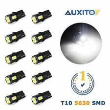 10x AUXITO T10 194 168 W5W LED Wedge Interior License Map Dome Light Bulb US