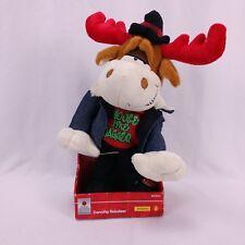 Animated Christmas Plush Reindeer Moose Dances Sings Moves Like Jagger Maroon 5