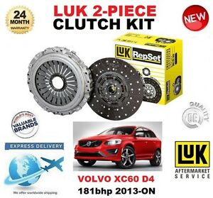 FOR VOLVO XC60 D4 ESTATE 2013-ON CLUTCH KIT 181 BHP 2 PIECE EO QUALITY
