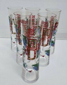 Brand New Desperados 6 x 380ml Hard Plastic Schooner Reusable Glasses