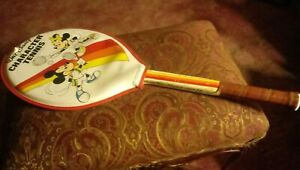 Vintage Disney Tennis Racket