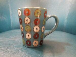Mr Coffee Turquoise Donut Coffee Cup Mug (0886)