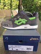 Asics X Ronnie Fieg Super Green OG Kith NYC Sz 9 US Rare Gel Lyte 3 2013