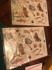 Lot Marjolein Bastin Nature's Sketchbook Magnet Set Hallmark 26 Garden Magnets