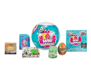 5 Surprise Toy Mini Brands SERIES 2 Capsule Collectible Toy by ZURU Gift Toy NEW