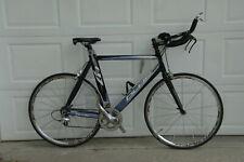 Blue T17, -57cm, aluminum, Dura Ace, 2x9 gears, Mavic Ksyrium Sl Ssc clinchers