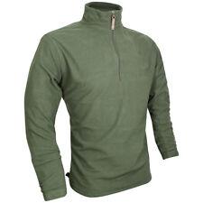 Jack Pyke Lightweight Fleece Top Polar Jacket Mens Hiking Hunting Fishing Green