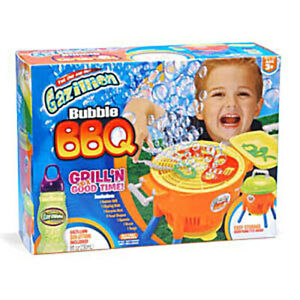 NEW GAZILLION BUBBLE BBQ BARBECUE CHEF KIDS TOY GRILL WAND OUTDOOR PLAY SET GAME