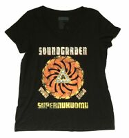 Soundgarden Superunknown Tour 1994 Women Plus Black T Shirt New Official