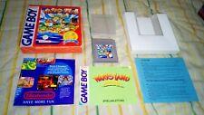 SUPER MARIO LAND 3 WARIO gameboy pal Germany game boy Deutsche Deutschland...