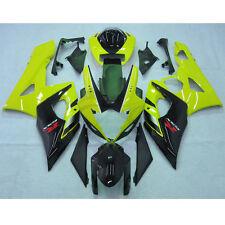 Yellow Injection Plastic Fairing Kit For Suzuki GSXR1000 GSXR 1000 2005 2006 K5