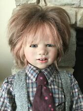Annette Himstedt Doll _Eddie_2007_With Box & Certificate(Coa)_Free Shipping