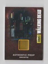 The Walking Dead AMC Prop Trading Card Wine Bottle M21